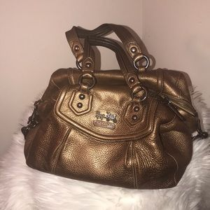 Authentic goat coach mini satchel